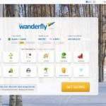 Wanderfly hjemmeside med inspiration til rejsedestinationen