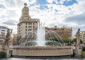 Storbyferie Barcelona springvand