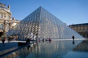 Museet i Louvre udefra